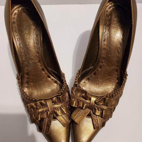 best wholesaler quite nice how to buy BCBGirls Shoes   Bcb Girls Gold Heels   Poshmark